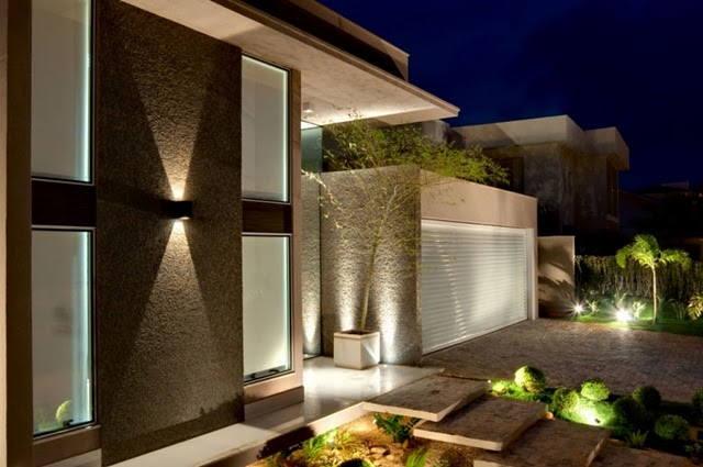 Fachadas de casas lindas vale o clique for Casas modernas hermosas