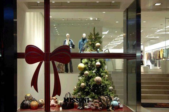 Luziane Lima Inspiraç u00e3o Vitrines de Natal -> Decoração De Natal Vitrine Loja